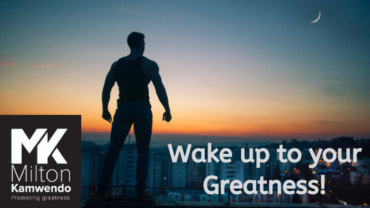 Wake up to your greatness!